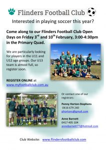 FFC Open Day Flyer 2017