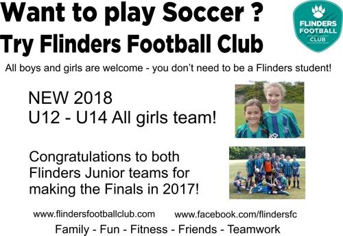 Try Flinders Football Club
