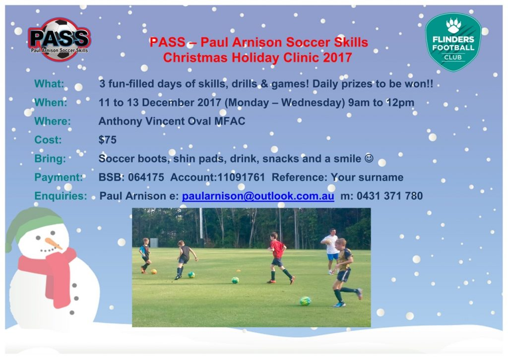 2017 Christmas Holiday Clinic